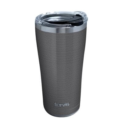 Carbon Fiber Pattern 20 oz. Stainless Steel Travel Mugs Tumbler with Lid