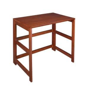 Nemus Cherry Folding Desk with Easy Assembly