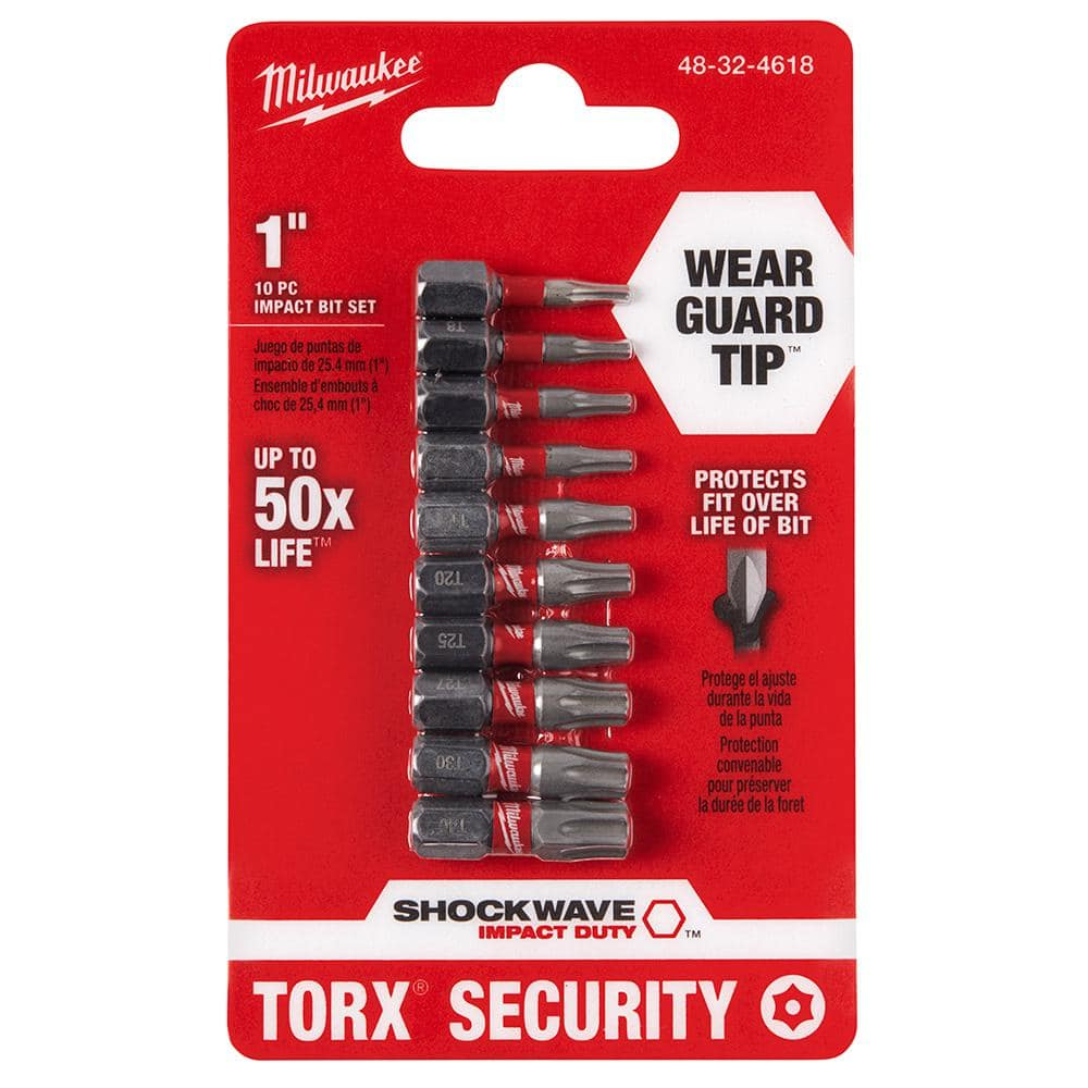 11X Torx Bit Set Quick Change Connect Impact Driver Drill Security Tamper Proof
