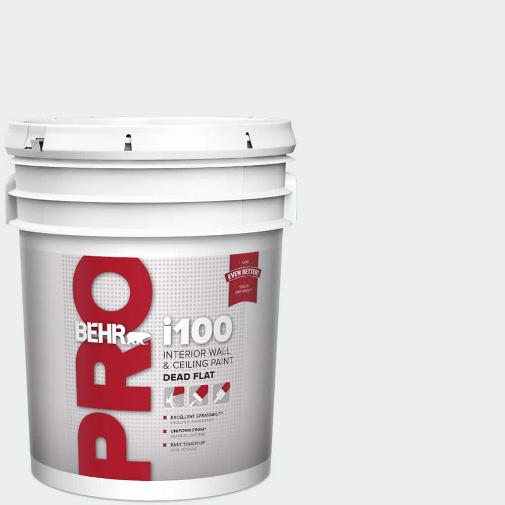 Behr Pro 5 Gal Pwn 16 Day Spa Dead Flat Interior Paint Pr10505 The Home Depot