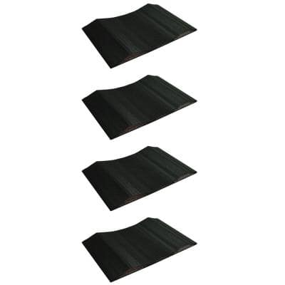 15 in. Wide Small Vehicle Tire Saver (Set of 4)