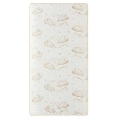 2-In-1 Breathable Twilight 5 Spring Coil Crib and Toddler Bed Mattress in Reversible Design