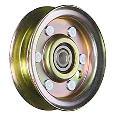 Deck Idler Pulley for Craftsman, Husqvarna, Poulan Mowers Replaces OEM #'s 104360X, 532104360, 532173438, 532131494