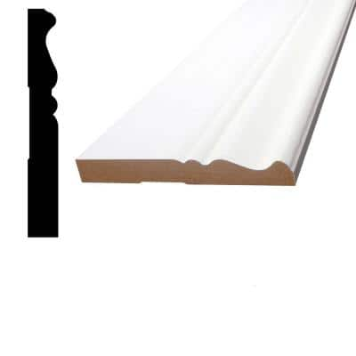 1/2 in. x 3-7/8 in. x 96 in. MDF Primed Fiberboard Base Moulding