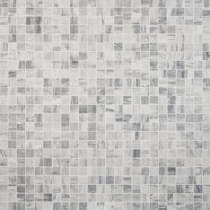 Selawood White 11.81 in. x 11.81 in. Matte Porcelain Floor and Wall Mosaic Tile (0.96 sq. ft./Each)