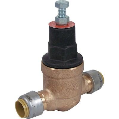 1/2 in. Push-to-Connect Bronze EB-45 Pressure Regulating Valve
