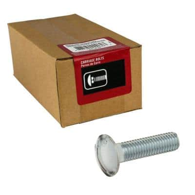 1/2 in.-13 x 2 in.  Zinc Plated Carriage Bolt (20-Pack)