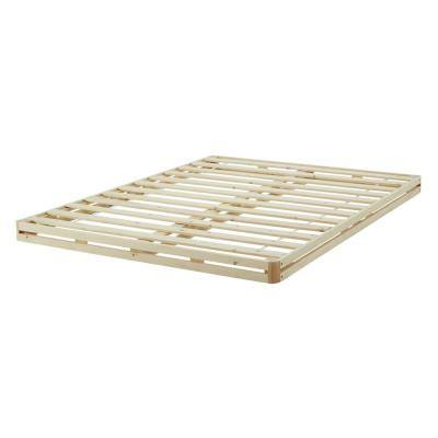 4 in. California King Size Quick Assembly Wood Foundation Cover Low Profile Mattress Foundation Replacement Box Spring
