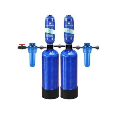Rhino Series 6-Stage 400,000 Gal. Whole House Chloramine Water Dispenser Filtration System