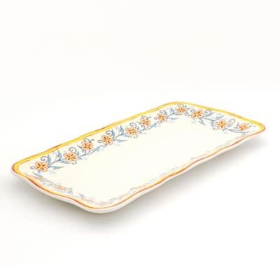Duomo 16 in. Rectangular Appetizer Platter