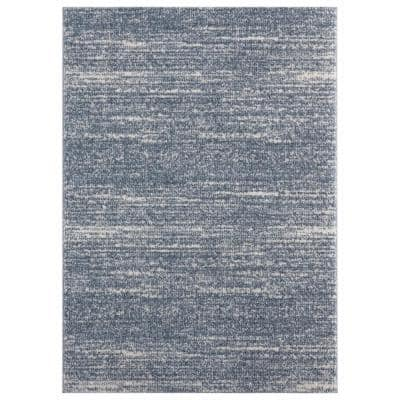 United Weavers Tranquility Galen Blue Grey 3 Ft 3 In X 4 Ft 11 In Area Rug 1840 20467 359 The Home Depot