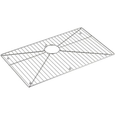 Strive 26-3/4 in. x 16 in. Sink Bowl Rack in Stainless Steel