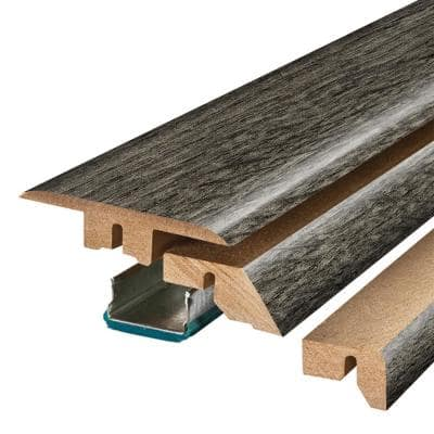 Standout Grey Oak 3/4 in. Thick x 2-1/8 in. Wide x 78-3/4 in. Length Laminate 4-in-1 Molding