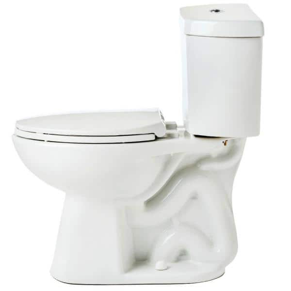Niagara Stealth 2 Piece Stealth 0 8 Gpf Ultra High Efficiency Single Flush Elongated Toilet In White Seat Included 3 Pack 77000whai1 The Home Depot