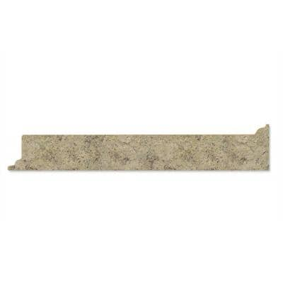 4-1/4 in. x 25-13/16 in. Laminate Endsplash Kit in Golden Juparana with Full Wrap Ogee Edge