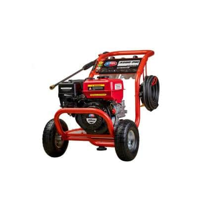 3200 PSI 2.6 GPM Gas Powered Pressure Washer