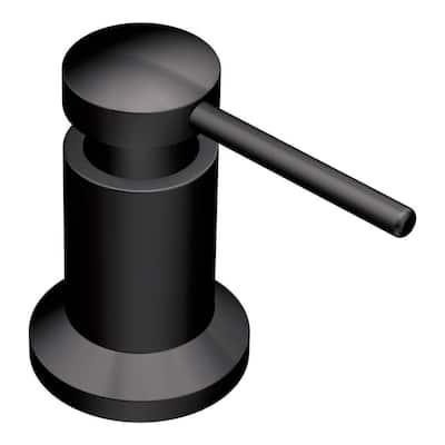 Soap/Lotion Dispenser in Matte Black (3.13 in.)