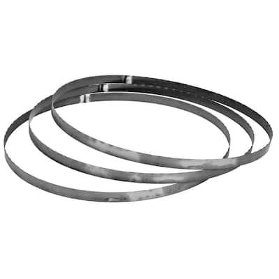 "18 TPI Bi-Metal Portable Bandsaw Blades, 32-7/8 in. Length, 0.02"" Width (3-Pack)"