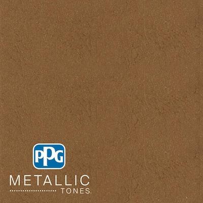 1 gal. #MTL140 Bronzed Caramel Metallic Interior Specialty Finish Paint