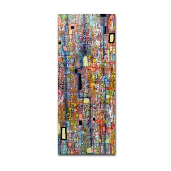 Trademark Fine Art 32 In X 14 In Nervures By Sylvie Demers Printed Canvas Wall Art Ali0902 C1432gg The Home Depot