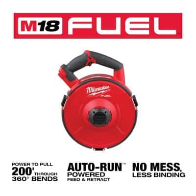 M18 FUEL 18-Volt Lithium-Ion Cordless Angler Pulling Fish Tape (Tool-Only)