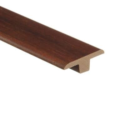 Hickory Chestnut 3/8 in. Thick x 1-3/4 in. Wide x 94 in. Length Hardwood T-Molding