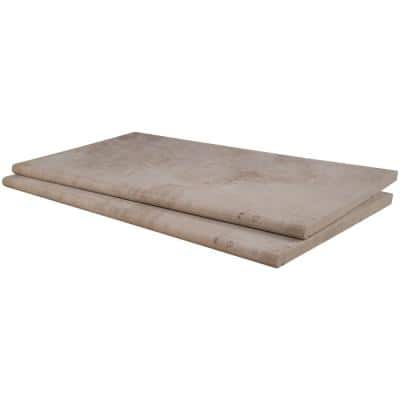 Isabela Beige 13 in. x 24 in. Porcelain Pool Coping (26 Pieces/56.33 Sq. Ft./Pallet)