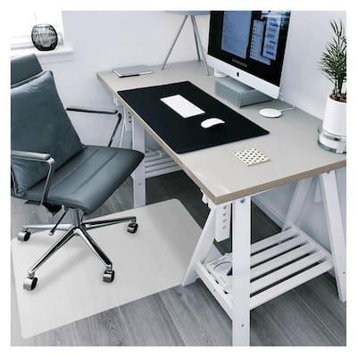 "Ecotex® Polypropylene Rectangular Anti Slip Chair Mat for Hard Floors - 29"" x 46"""