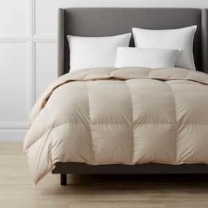 Alberta Medium Warmth Alabaster King Euro Down Comforter