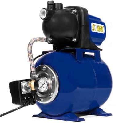 1.6 HP Garden Water Pump with Tank and Automatic Booster System