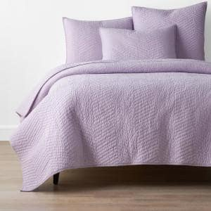 Company Lilac Solid Full/Queen Cotton Quilt