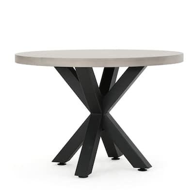 Poppy Circular Stone Outdoor Dining Table