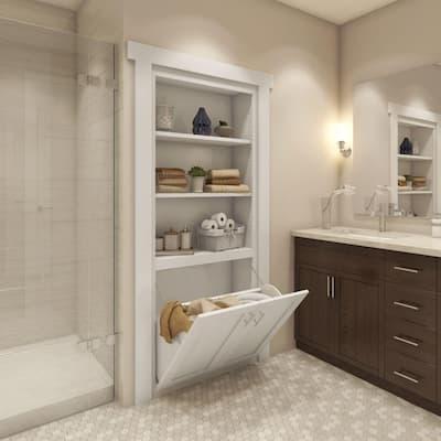 Murphy Assembled Flush Mount Laundry Door