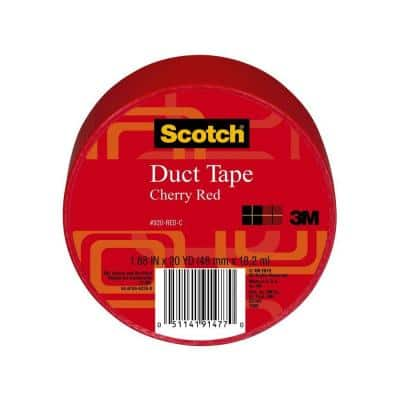 Scotch 1.88 in. x 20 yds. Red Duct Tape (Case of 6)
