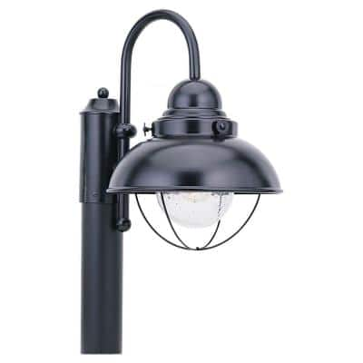 Sebring 1-Light Outdoor Black Post Top
