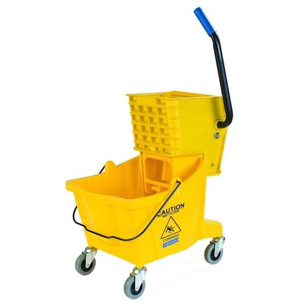 Kentucky Mop Bucket And Wringer Heavy Duty ELITE® Green HKT