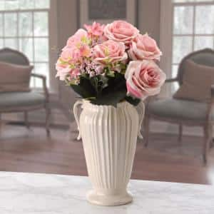 19 in. Pink Rose Bundle