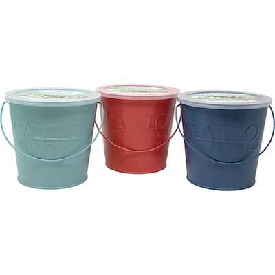17 oz. Citronella Painted Bucket