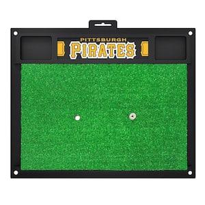 MLB - Pittsburgh Pirates 20 in. x 17 in. Golf Hitting Mat