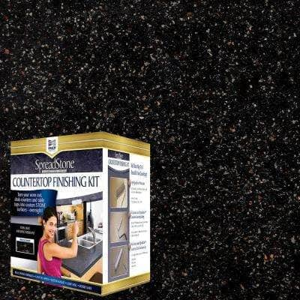 Mineral Select 1 qt. Volcanic Black Countertop Refinishing Kit
