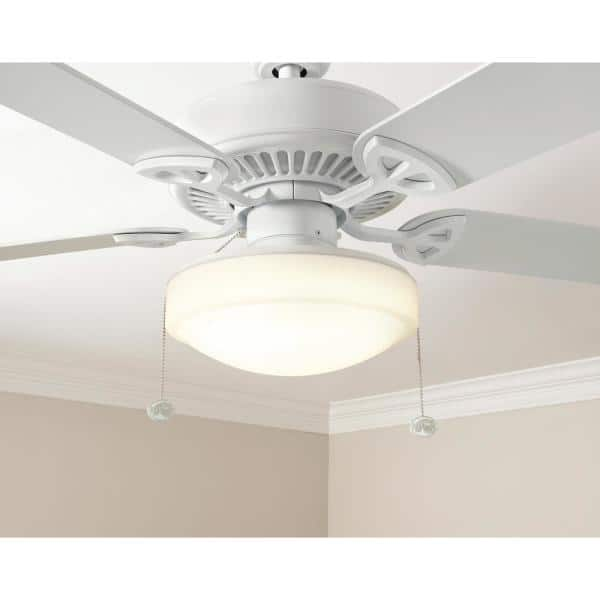 Hampton Bay 11 In Warm And Bright White Light Universal Led Ceiling Fan Light Kit 53701101 The Home Depot