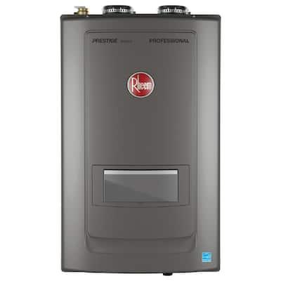 Prestige 9.0 GPM Propane Liquid High Efficiency Combi Boiler with 180000 BTU