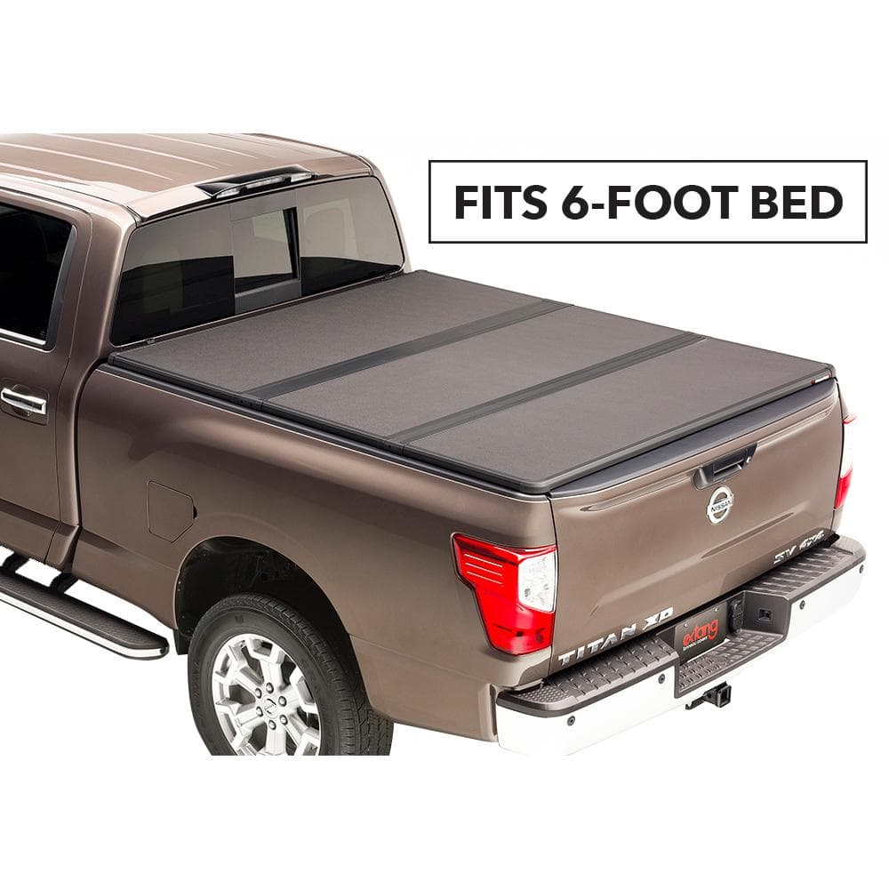 Extang Solid Fold 2 0 Tonneau Cover For 04 06 Toyota Tundra Crew Cab 6 Ft 2 In Bed 83850 The Home Depot
