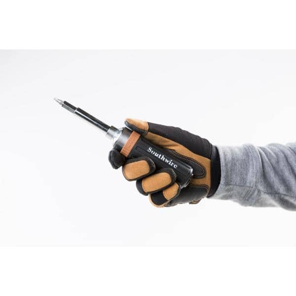 Genius Tools Standard Handle Ratcheting Screwdriver 340mmL 524+2990