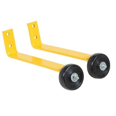 Pipe Railing Barricade Base with Wheels