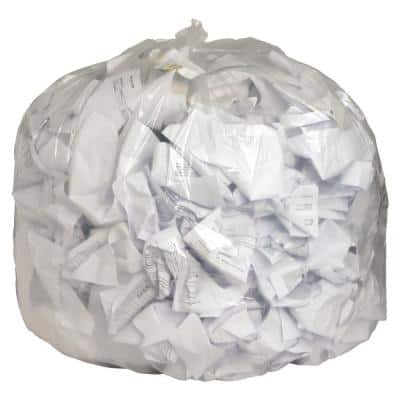 56 Gal. Clear Trash Can Liners (100-Count)