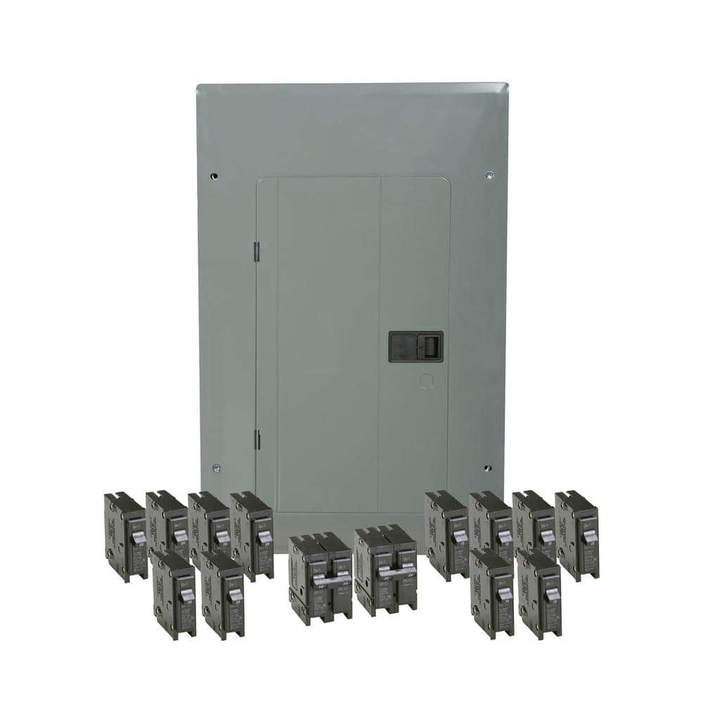 Eaton Br 100 Amp 20 Space 20 Circuit Indoor Main Breaker Loadcenter With Cover Value Pack 6 Br120 6 Br115 1 Br230 1 Br250 Br2020b100v4 The Home Depot