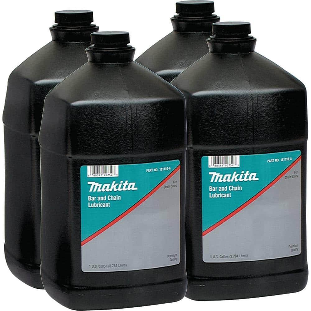 Makita 1 Gal. Bar and Chain Oil (4-Pack)