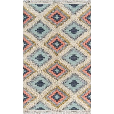 Indio Templin Multi 5 ft. x 7 ft. Area Rug