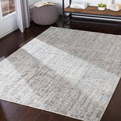 Marquis Grey 2 ft. 7 in. x 5 ft. Solid Area Rug